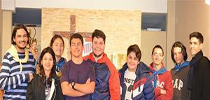 Jóvenes del COM, comparten unos días de retiro espiritual en Buenos Aires