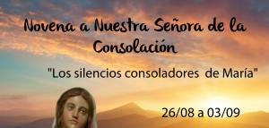 Agenda de Novena de la Virgen de la Consolación en Los Andes