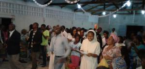 Missão popular diocese de Inhambane com os missionàrios redentorista.