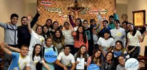 Listos a participar en el #ENJ-Rosario anunciamos la alegría de la consolación de Dios
