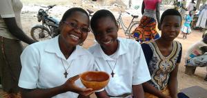 """¡La alegría de llevar la consolación de Dios!"""" Pastoral Vocacional- Noviciado de Ouagadougou."""