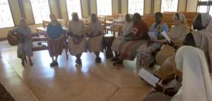 Visite de Mère Générale à Afrique de l'Ouest-Rencontre des Sœurs de Vœux perpétuels