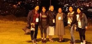 En salida con los jóvenes ecuatorianos