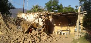 Fuerte sismo en Los Andes