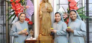 THREE NEW SISTERS FOLLOW THE STEPS OF SAINT MARIA ROSA MOLAS