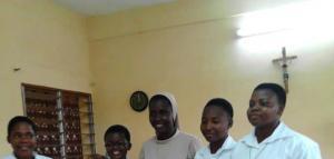 Entrada al Noviciado en Ouagadougou-Burkina Faso/Entrée au Noviciat-Burkina Faso