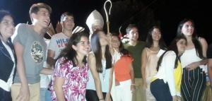 Valientes testigos.  Confirmación de alumnos del colegio de Concepción