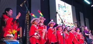 Exitosa presentación de proyecto cultural en los Andes