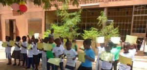 """Final de curso en la escuela Infantil """"María Rosa Molas"""" Ouagadougou-Burkina Faso"""