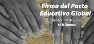 FIRMA EL PACTO EDUCATIVO