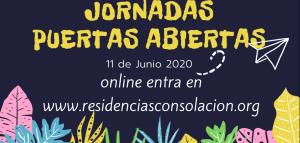 PUERTAS ABIERTAS EN LAS RESIDENCIAS CONSOLACIÓN