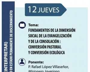 Fundamentos de la Dimensión Social del Carisma: Conversión pastoral y ecológica.