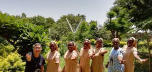Visita de Madre General a África del Oeste