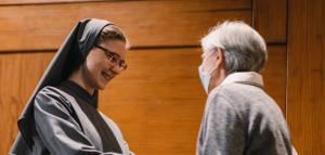 Profesión religiosa de la hermana Anežka Gúberová