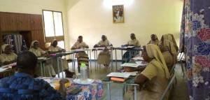 Session de jeunes professes