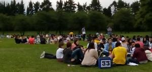 Pascua juvenil arquidiocesana en el noroeste argentino congrega centenares de jóvenes