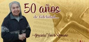 FELICIDADES GRACIELA, POR TUS 50 AÑOS DE CONSAGRACIÓN...