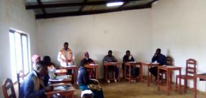 Formação dos animadores do grupo jovenil das comunidades da vila