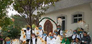 Celebración Virgen de Guadalupe en el Hogar de la Misericordia