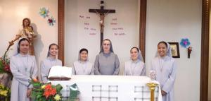FIRST PROFESSION OF FIVE NOVICES IN ASIA´S DELEGATION