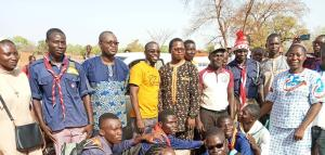 Pérégrination de la Croix des Jeunes dans le diocèse de Dédougou