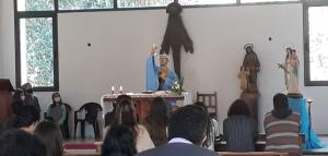 Recibiendo el consuelo de Dios en la fiesta de Ntra. Sra. de la Consolación