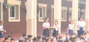 Jesús, te esperamos! Celebración de Adviento en el colegio de Concepción