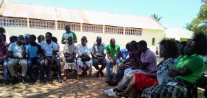 Encontro de jovens-Inhambane (Mozambique)