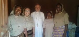 Acolhida das Irmãs em Furancungo-Nueva Fundación en FURANCUNGO-Mozambique