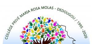Apertura del jubileo de 25 años del Colegio María Rosa Molas de Dédougou
