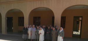 Visita de la Madre General a la comunidad de la Casa Madre