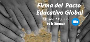 FIRMA DEL PACTO EDUCATIVO GLOBAL