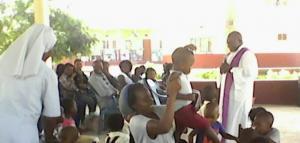 """Missa de abertura do ano lectivo Escolinha """"Maria Rosa Molas"""" de Inhambane"""