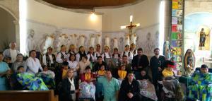 Fiesta Ntra Sra de  Guadalupe en el Hogar de la Misericordia