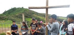 Triduo Pascual en la Parroquia El Valle