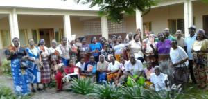 Entrega do marco estrategia aos leigo em Inhambane -Entrega del Marco estratégico a los Laicos de Inhambane-Mozambique