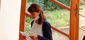 Entrada al postulantado de Zuzana Košťálová