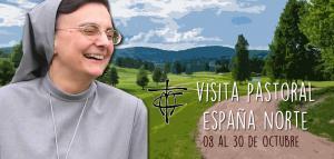 08 al 30 octubre visita pastoral España norte (madre Emilia)